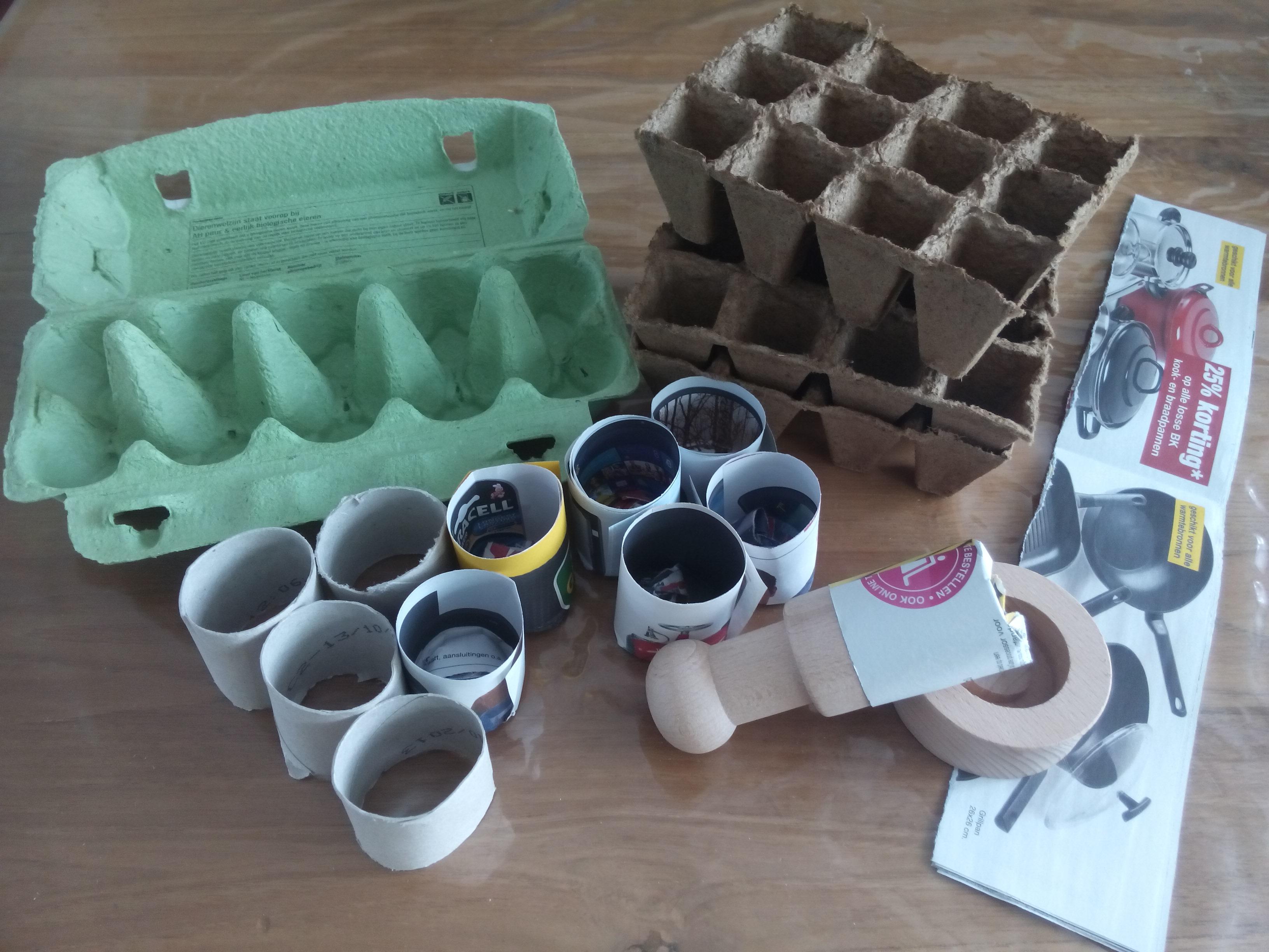 Hoe je huis tuin en keukenspullen gebruikt om voor te zaaien - Hoe om te beseffen een tuin ...