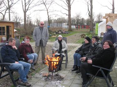 Nieuwjaarsbijeenkomst in de Buurttuin