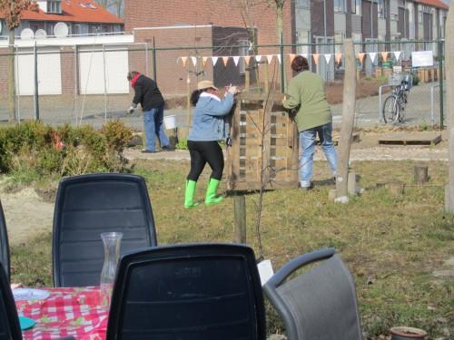NLdoet 2016 in de Buurttuin Breda